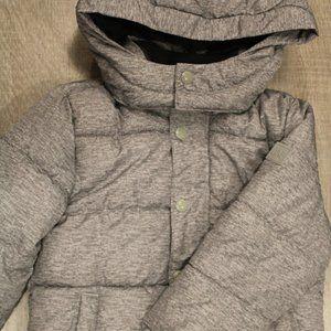 gap cold control ultramax jacket gray size 4y